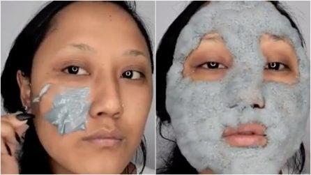 Spalma la crema su tutto il viso: dopo pochi secondi accade qualcosa di sorprendente
