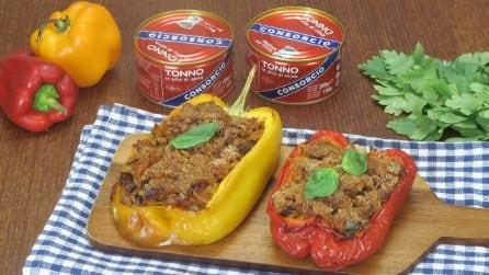 Peperoni ripieni di tonno: la ricetta facile e gustosa!