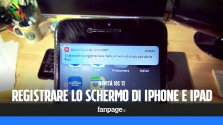 Novità iOS 11: attivare e utilizzare la registrazione schermo in iPhone e iPad