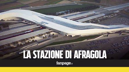 """Stazione di Napoli Afragola, Pres. Gentiloni: """"Non è una cattedrale nel deserto""""."""