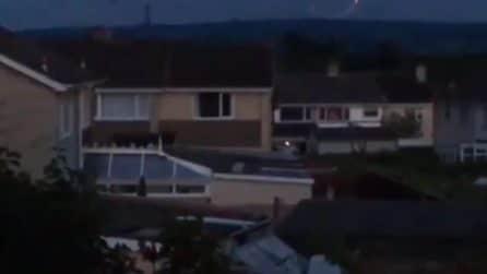 Ufo circolare nel Somerset