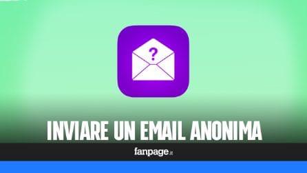 Come inviare un'email anonima