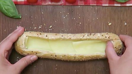 Stuffed Baguette: a unique idea for a fun aperitif!