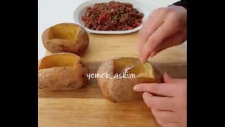 Patate al cartoccio ripiene: la ricetta per un secondo piatto originale