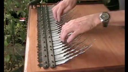 Inventa un nuovo strumento musicale: il suono unico nel suo genere dell'Array mbira