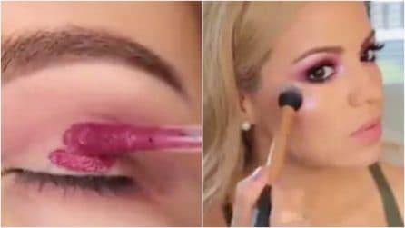 Applica il rossetto liquido sugli occhi: l'uso alternativo che vi conquisterà