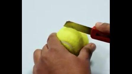 Taglia delle palline da tennis: il motivo è geniale