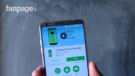 Come registrare lo schermo in Android