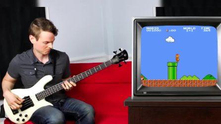 Segue le avventure di Super Mario con la sua chitarra: ascoltate cosa crea