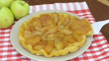 Tarte Tatin, the tasty recipe for the French apple pie