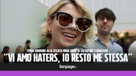 """Emma Marrone: """"Solo chi non fa niente non viene attaccato.Vi amo haters"""""""