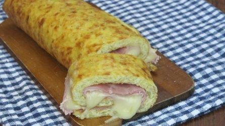 Rotolo rösti di patate: facile, gustoso e filante!