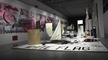Triennale Design Museum: bandiere bianche per un'idea di resa creativa