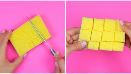 How to use a kitchen sponge