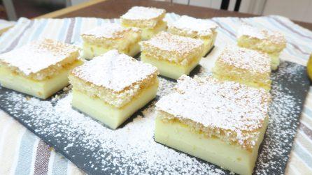 Torta magica, il dolce a tre strati e con una sola cottura che vi lascerà a bocca aperta