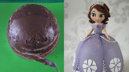Come decorare una torta con una principessa Disney