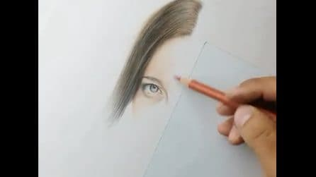 """Fa una sorpresa speciale alla sua fidanzata: il disegno sembra """"uscire"""" dal foglio"""