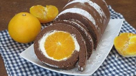 Rotolo all'arancia: il dolce sorprendente che piacerà a tutti