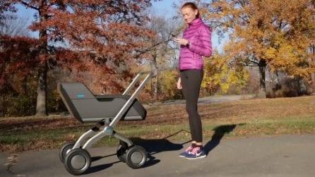 Arriva SmartBe, il passeggino intelligente che si muove da solo
