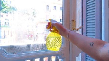 Come fare un detergente per i vetri: efficace ed economico