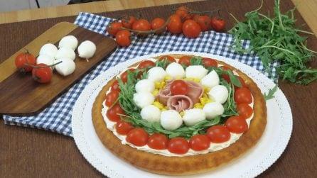 Torta salgada fofinha: ideia gostosa e colorida para o verão!