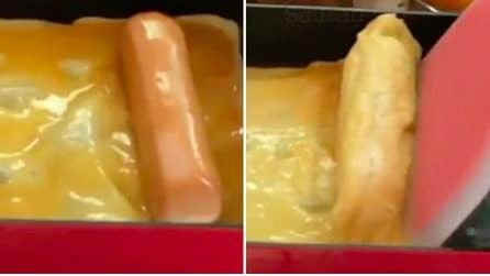 """Enrole salsicha na omelete e crie """"Egg Rolls"""": receita simples e diferente"""