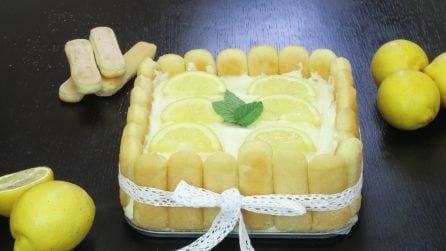 Pavê de biscoito champagne e limão, gostosa sobremesa fresca e sem assar