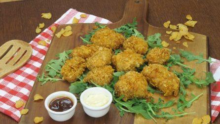 Petto di pollo ai corn flakes: croccante, facile e saporito!