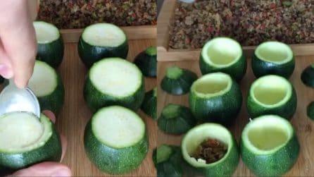 Zucchine ripiene: una ricetta veloce e facile da preparare