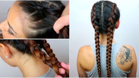 "Come fare le ""Boxer Braids"""