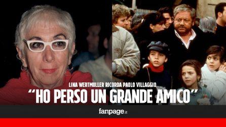 """Paolo Villaggio, il ricordo di Lina Wertmuller: """"Intelligente e colto, ho perso un amico"""""""