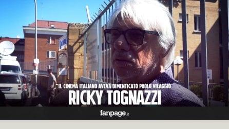"""Morte Paolo Villaggio, Ricky Tognazzi: """"Cinema italiano ingrato, l'aveva dimenticato"""""""