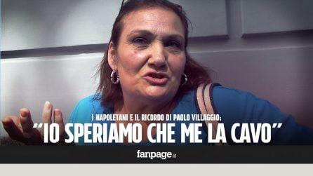 """Paolo Villaggio, il ricordo dei napoletani: """"Indelebile il 'dicitece zompapereta' in 'Io speriamo che me la cavo'"""""""