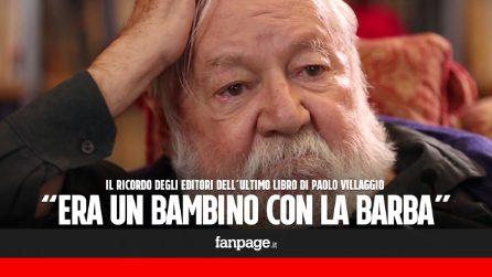 """Morto Paolo Villaggio, gli editori del suo ultimo libro: """"Non era burbero, ma un bambino con la barba"""""""