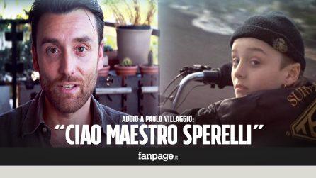 """Morte Paolo Villaggio, Ciro Esposito di 'Io speriamo che me la cavo': """"È mancato dirgli 'ti voglio bene'"""""""