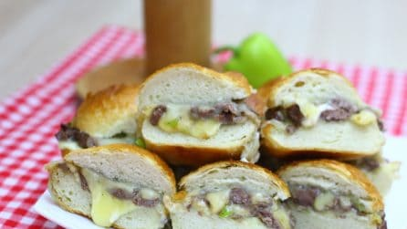 Philly Cheesesteak Sliders: you must try this!