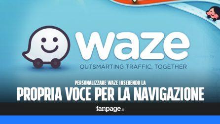 Inserire una voce personalizzata per la navigazione in Waze