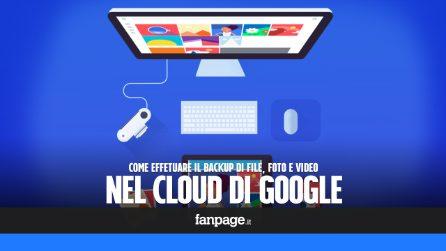 Effettuare il backup del proprio computer nel cloud di Google