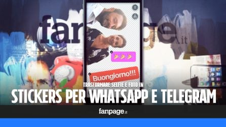 Trasformare selfie e foto in stickers per WhatsApp e Telegram