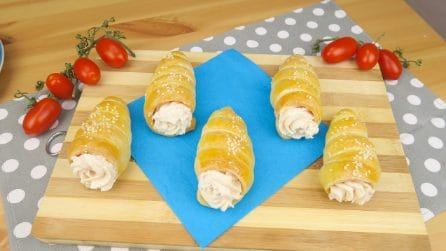 Brioche cones: so tasty you won't be able to resist them!