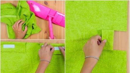Come riutilizzare un vecchio asciugamano in modo utile