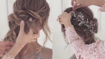 Come fare una pettinatura elegante con i capelli lunghi