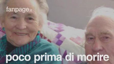 Sposati da 71 anni ei muore 4 minuti dopo di lui. La loro storia è un inno all'amore eterno