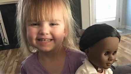 A soli 2 anni la piccola Sophia dà una lezione di vita al mondo intero