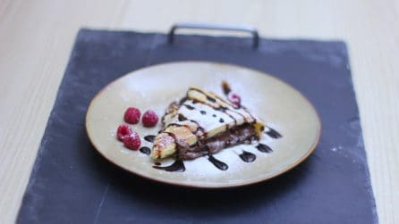 Hazelnut cream star cake