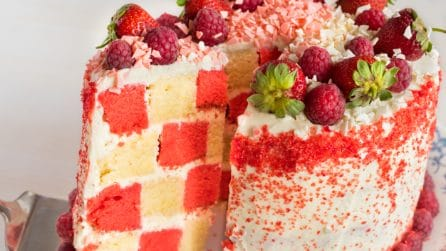 Checkerboard Cake: you will love this dessert