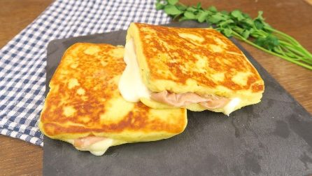 Pan toasted potato sandwich: An easy and fun dinner idea that is ready in no time!