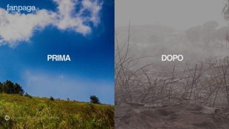 Il prima e il dopo del Parco Nazionale del Vesuvio: lo scenario è apocalittico