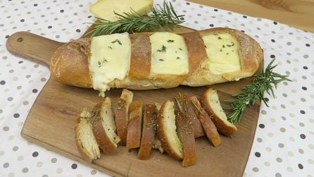Stuffed bread: here's a great way to surprise your guests!