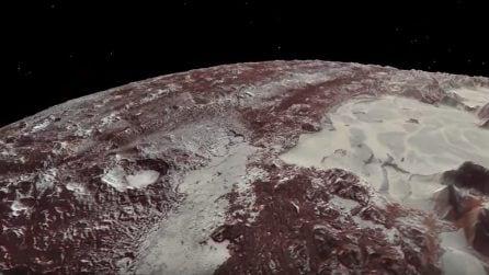 Alla scoperta di Plutone: ghiaccio azoto, catene montuose e pozzi profondi
